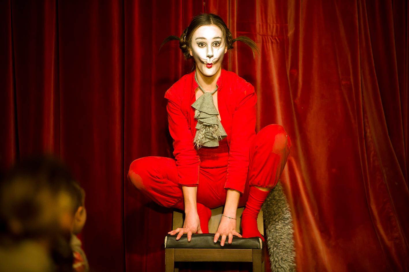 Monbijou-Theater in der Märchenhütte: Der gestiefelte Kater